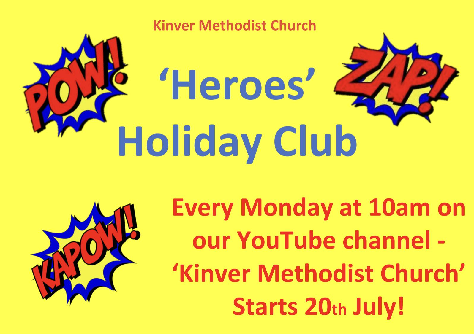 heroes holiday club